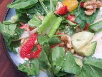 Summer Salad with Balsamic Vinaigrette