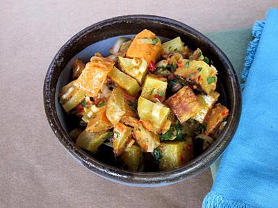 Farm Fresh Roasted Sweet Potato Salad