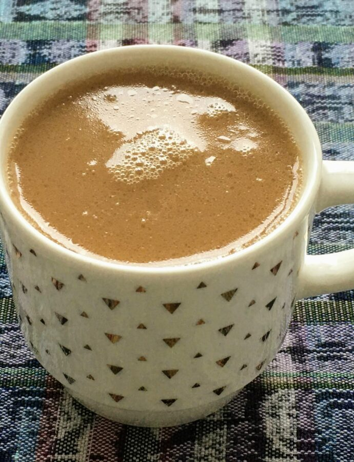 My Morning Latte + Four Kitchens in Four Weeks