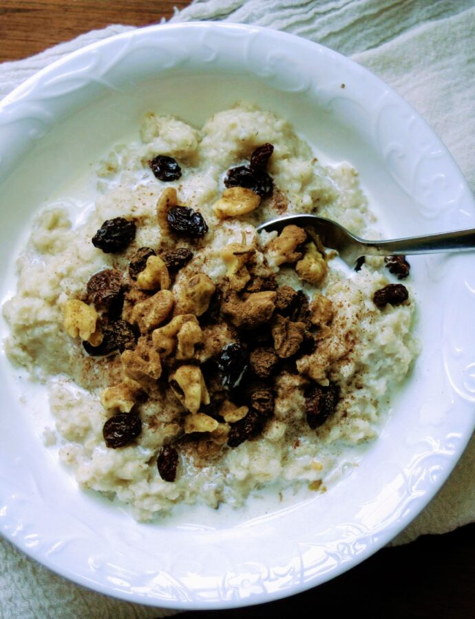 Perfect Overnight Oatmeal