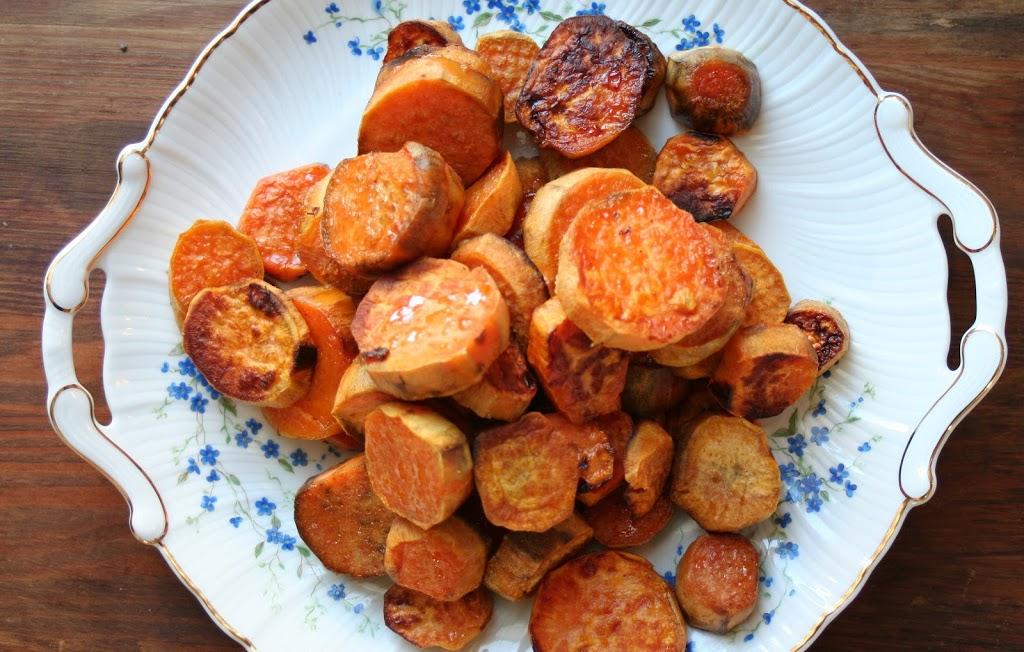 Roasted Sweet Potato Medallions