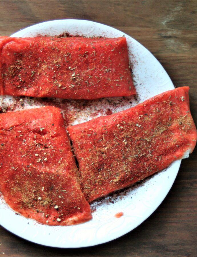 Pan Fried Salmon Fillets