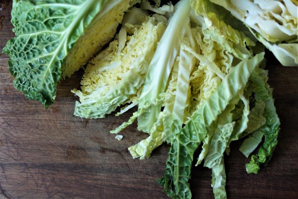 Sautéed Savoy Cabbage