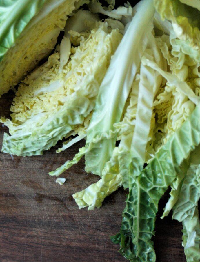 Ten Minute Savoy Cabbage