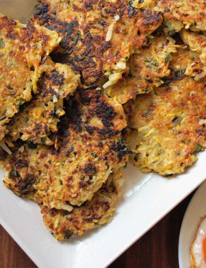 Quinoa & Summer Squash Fritters