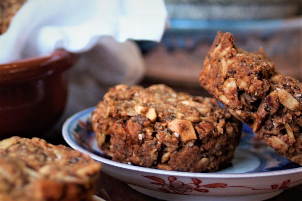 Low Histamine Almond Oat Cookies